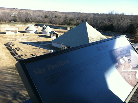 Chickasaw Cultural Center: Outside