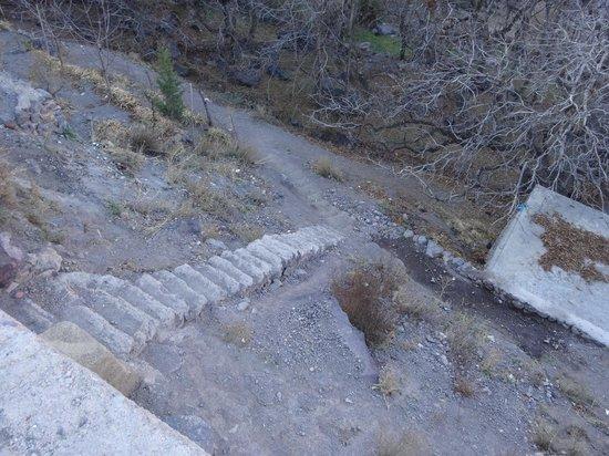 Riad Atlas Toubkal : Escaliers