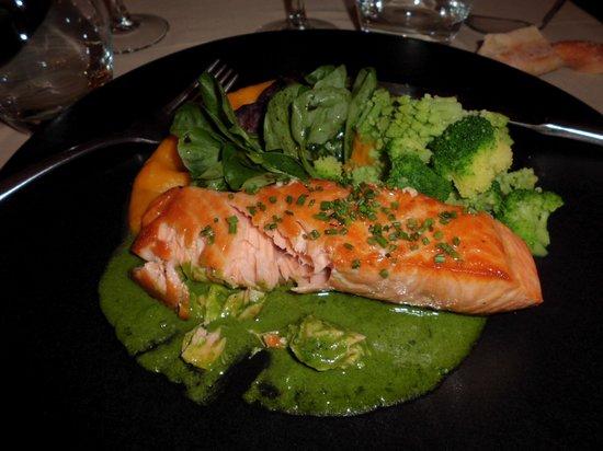 Le clos Saint-Roch : saumon