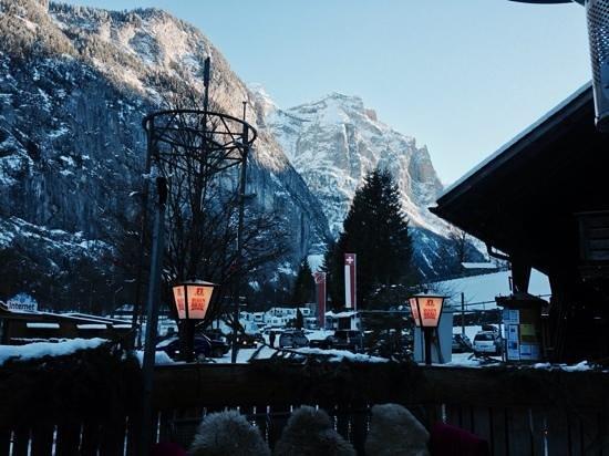 Restaurant Weidstübli: view from the terrace