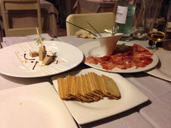 Restaurante Piazza 19: Mis primeros