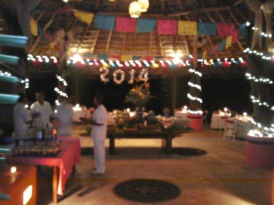 Las Alamandas: New Year's Eve Palapa