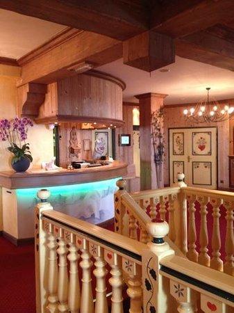 Hotel L'ours Blanc : De receptie