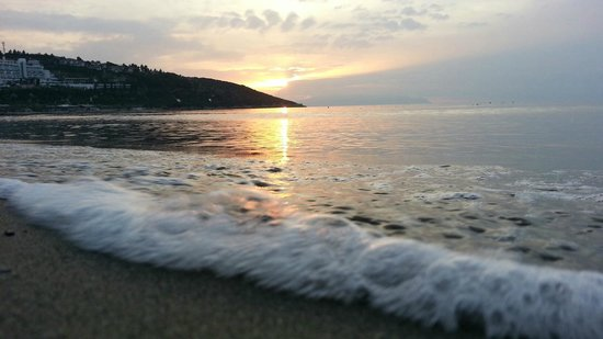 Surmeli Efes: Strand und Sonnenuntergang