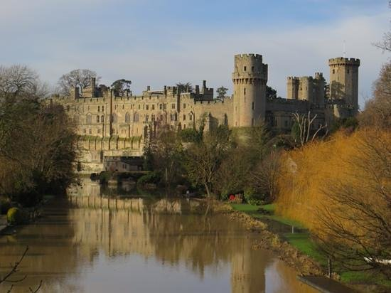 Warwick Castle: Great view