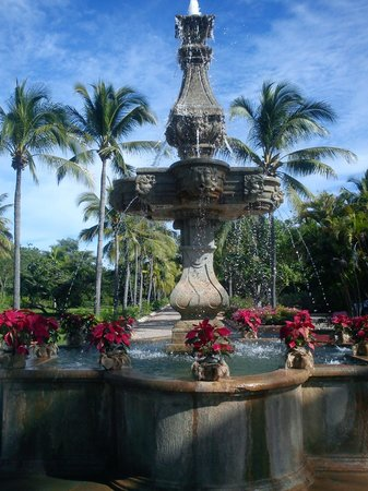 Las Alamandas: Fountain