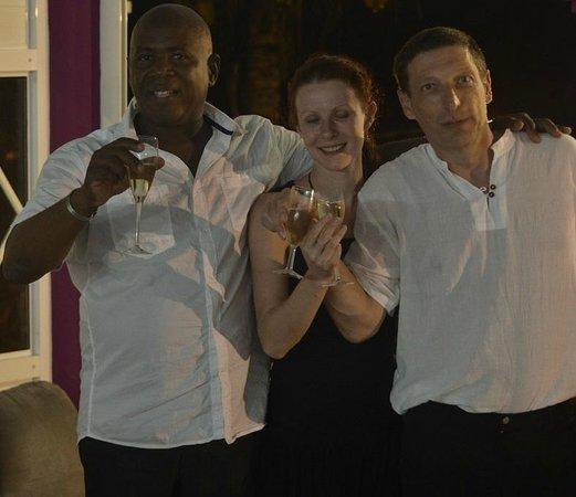 Gîtes les Manguiers : Le revellion 2013/14 avec Martial