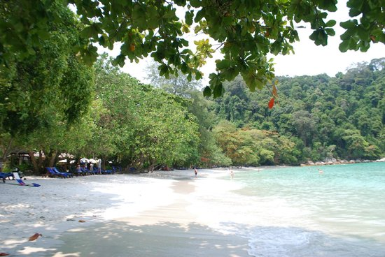 Pangkor Laut Resort : Emerald Bay Beach
