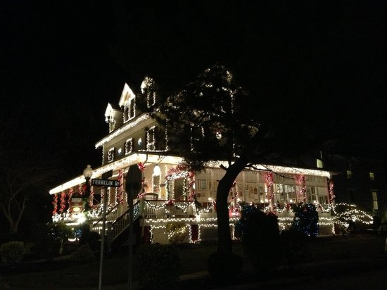 The Dormer House at Christmas