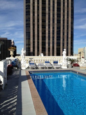 Le Pavillon Hotel: Roof top pool