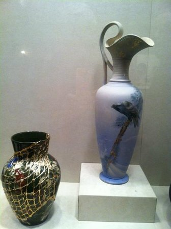 From the Art Pottery Exhibit at Cincinnati Art Museum