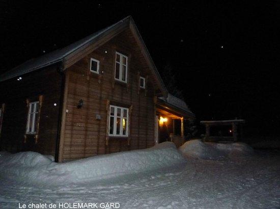 Holemark Gard: le chalet en décembre