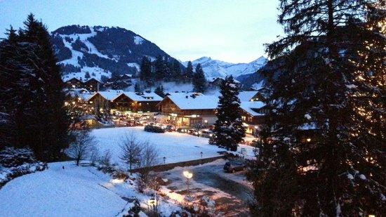 Le Grand Bellevue: Blick vom Balkon Zimmer 306