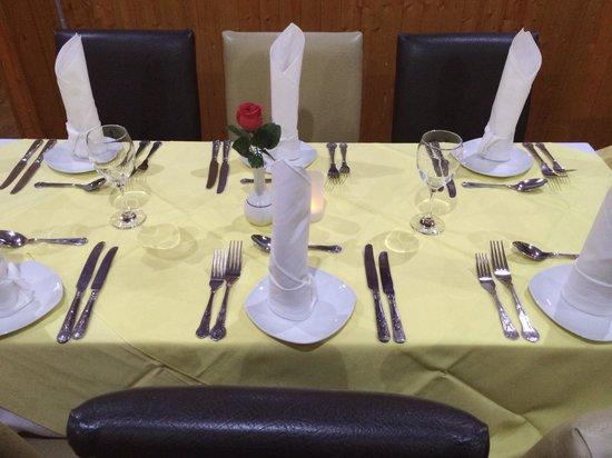 Rasam's Spice: Table