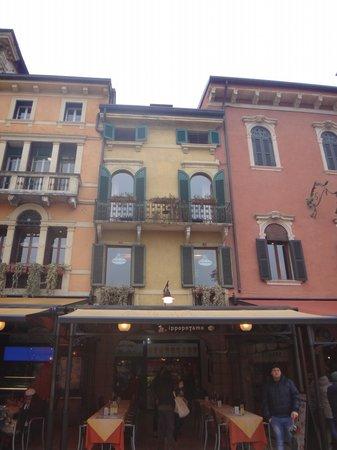 Locanda Ippopotamo: Balcony