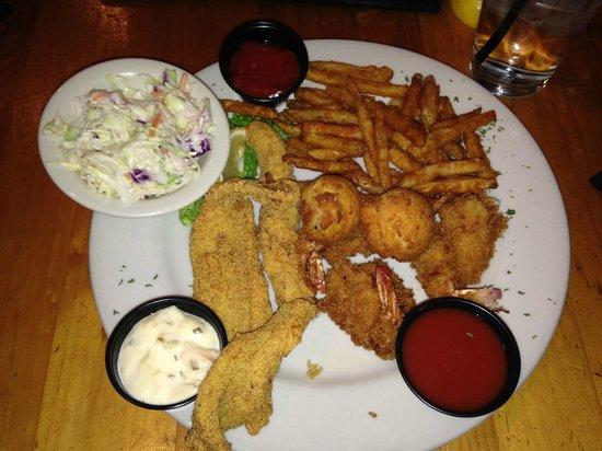 Fish Creek: Fried Shrimp & Fish