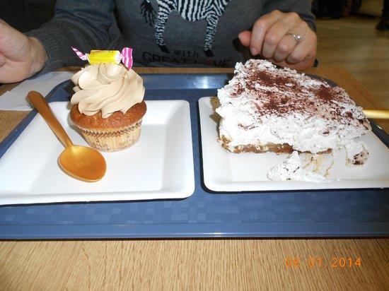 Cup N Cake Bordeaux: Cupcake carambar et banoffee