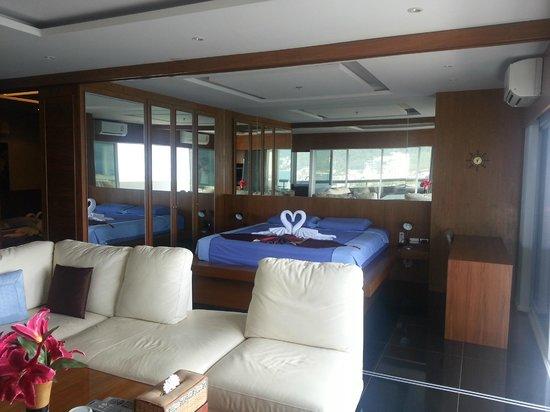 Patong Tower Holiday Rentals : room