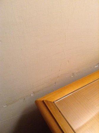 Quality Hotel Nova Domus: walls are all this way