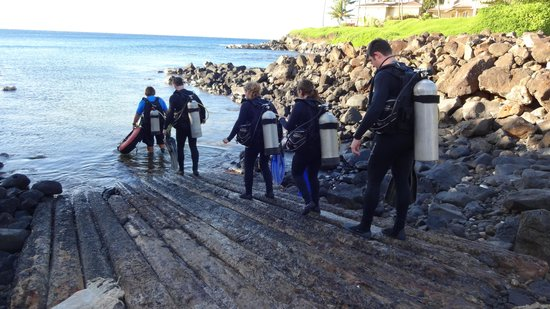Kauai Down Under Dive Team : Koloa Landing entry