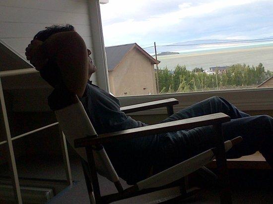 Los Ponchos Apart Boutique: Esta es la vista de la habitacion al lago, no podes dejar de disfrutar la PAZ