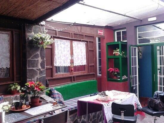 B&B La Laguna: patio