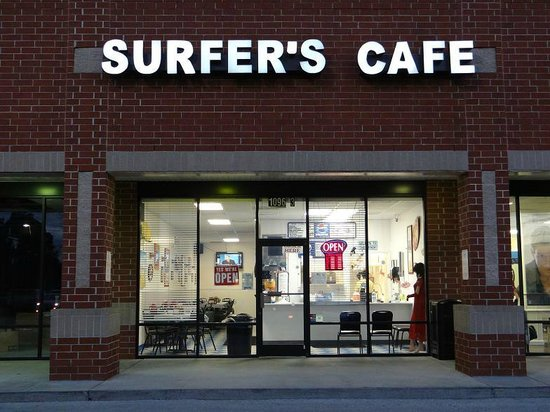Surfers Cafe Holden Beach Nc