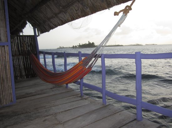 Sapibenega The Kuna Lodge: My balcony with hammock