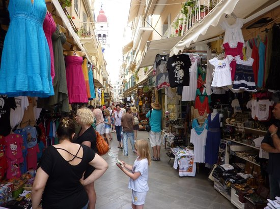 Old Fortress Corfu: Excellent Shopping in Corfu