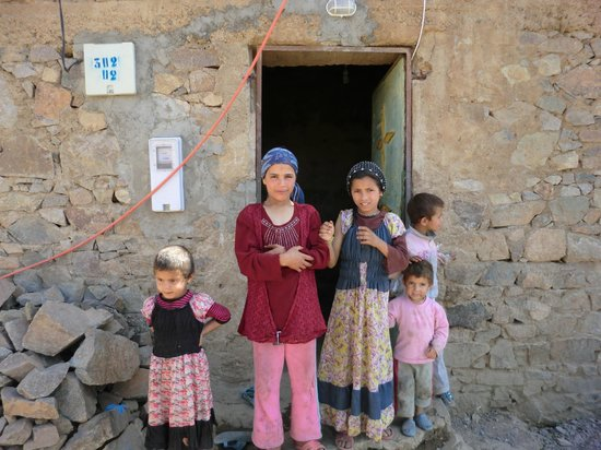 Imlil, Morocco: Village children