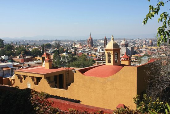 Casa de la Cuesta: the view from our roof garden