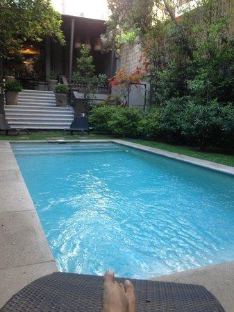 Lastarria Boutique Hotel: pool