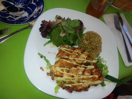 Bar Oceano Restaurante: Mahi Mahi meal