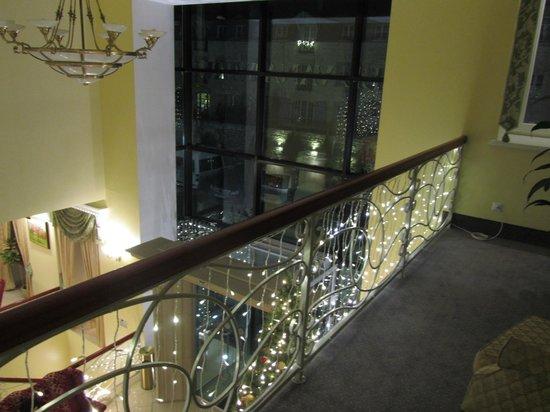 Baltic Hotel Vana Wiru: Лестница к номерам