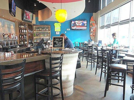 Bri Wood Fired Pizza Bar Area