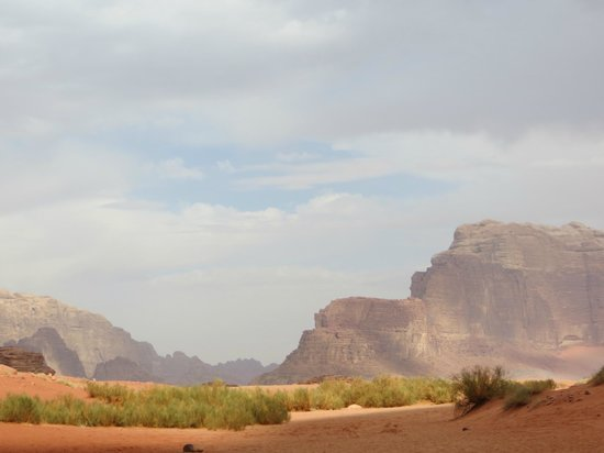 Rum Stars Camp & Bedouin Adventures Group: Wadi Rum view
