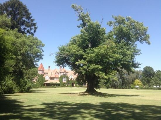 Estancia Villa Maria: l estancia vue du parc