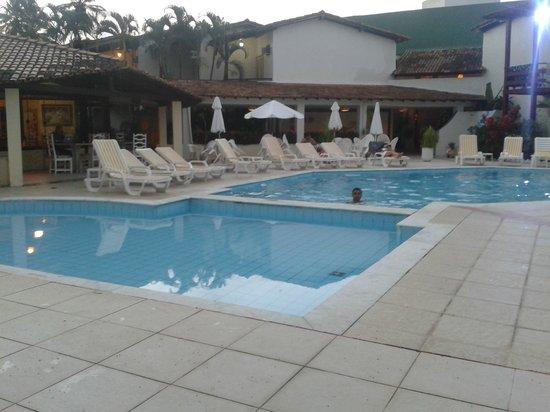 Girassol Hotel: la pileta ideal para nadar un rato despues de haber disfrutado del mar