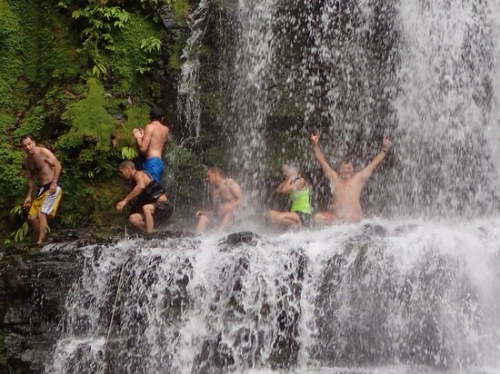 Costa Rica Waterfall Tours: We made it!!!