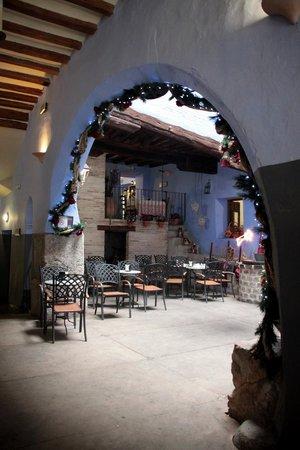 Hospederia Meson de La Dolores: Cafetería