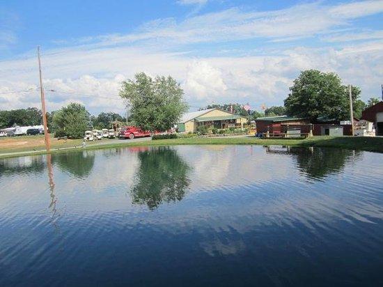 Willamsport South/Nittany Mountain KOA: Fishing pond