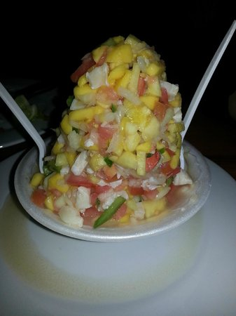 Twin Brothers Restaurant : Conch salad