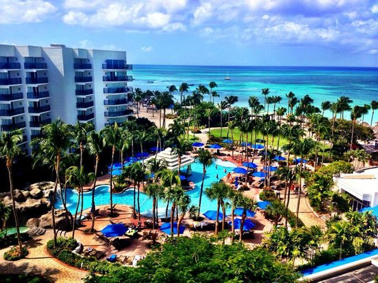 View From Room Tradewinds Floor 824 Picture Of Aruba