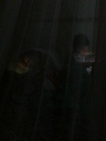 Xbalamque Cabanas Tulum: Bedtime at Xbalamque with mosquito net