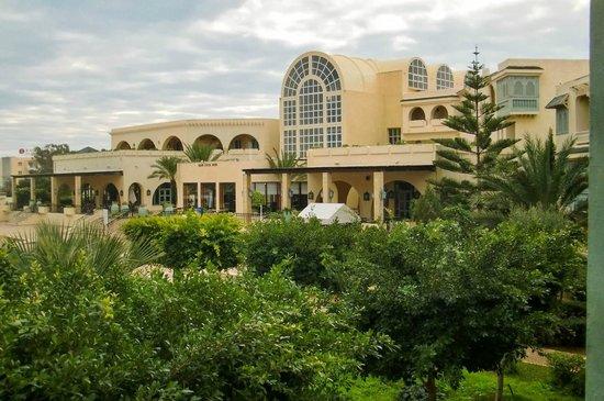Carthage Thalasso : Back of hotel