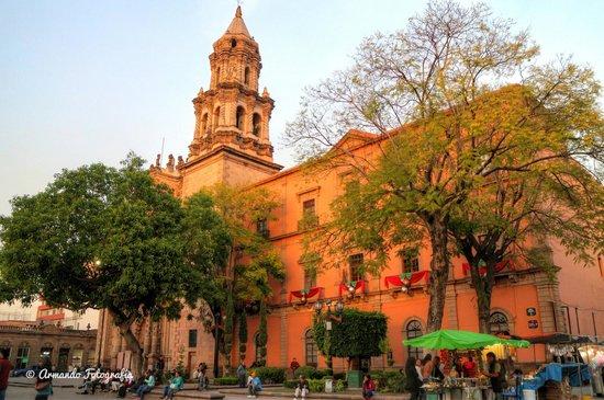 Foto de jard n hidalgo san luis potos en plaza del for Jardin hidalgo