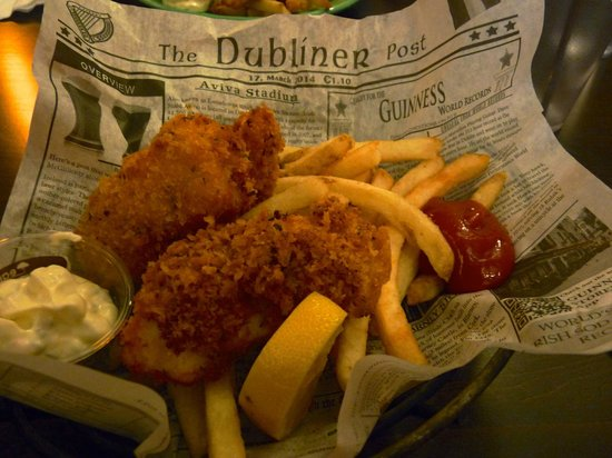 Fish and chips picture of shawn o 39 donnell 39 s american for Best place for fish and chips near me