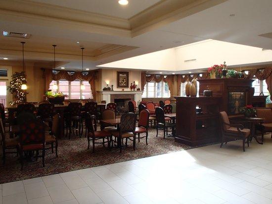 Hampton Inn & Suites Mobile/Downtown: Breakfast area