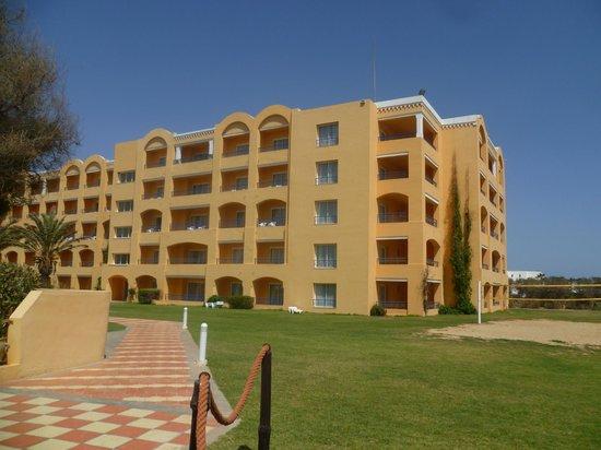 Nour Palace Resort : Вид с моря на отель