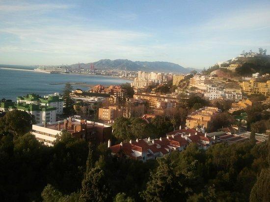 Hotel Castillo de Santa Catalina: Room with a view